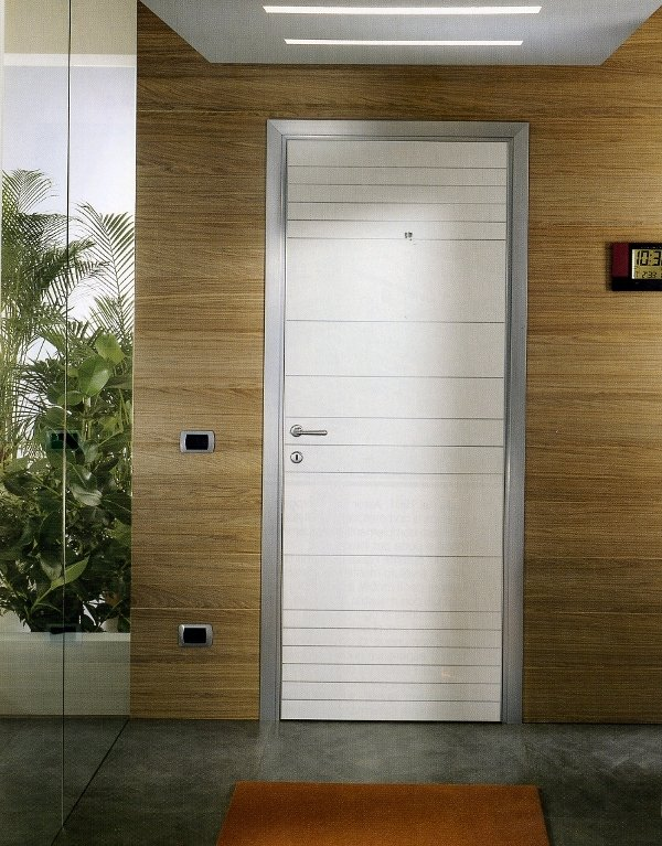 Porte in vetro e alluminio ponti tende ravenna - Porte interne alluminio e vetro ...