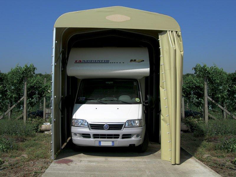 Box auto camion camper ponti tende ravenna - Porta a soffietto usata ...